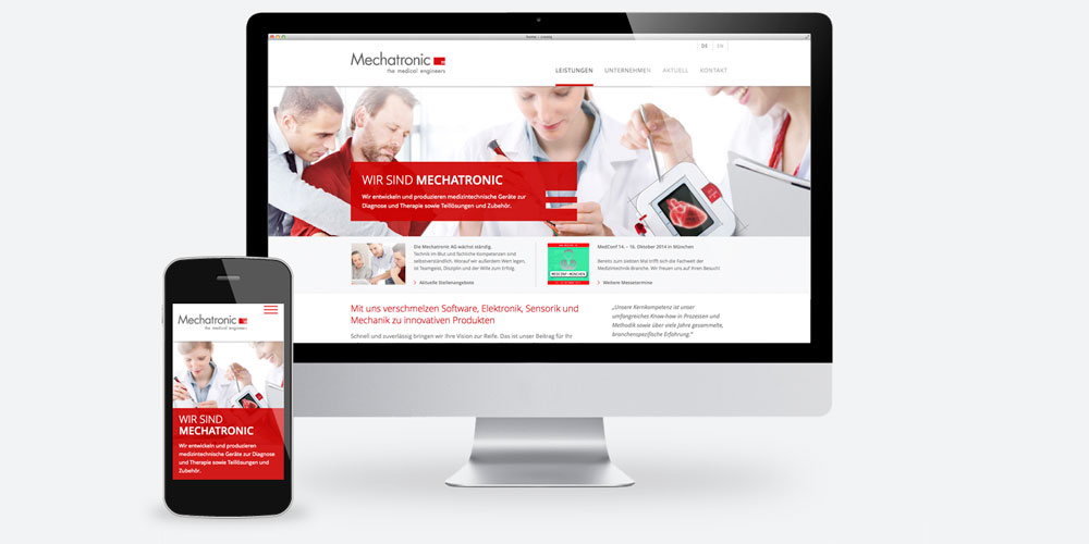 Webdesign Mechatronic